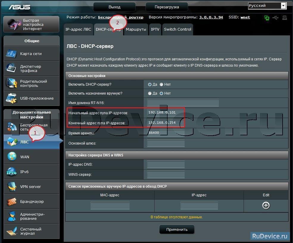 Asus rt n12 проброс портов для видеорегистратора